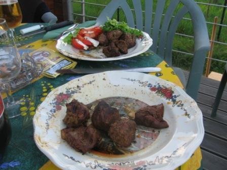 La délicieuse viande
