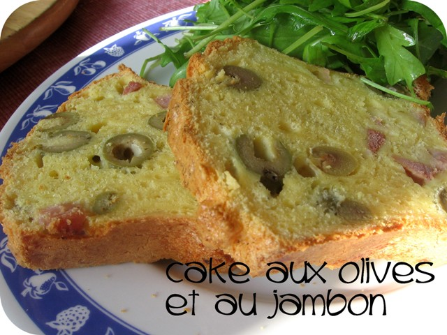 popotte entre potes cake aux olives et au jambon. Black Bedroom Furniture Sets. Home Design Ideas